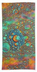 Rainbow Color Flow Hand Towel by Bruce Pritchett