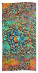 Rainbow Color Flow Bath Towel by Bruce Pritchett