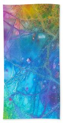 Rainbow Hand Towel by Artists With Autism Inc