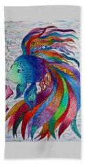 Rainbow Fish Bath Towel