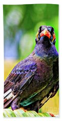 Rainbow Hill Mynah Hand Towel