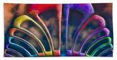 Rainbow Hill Hand Towel