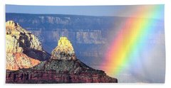 Rainbow Kisses The Grand Canyon Bath Towel