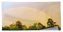 Rainbow Bath Towel by Melissa Messick