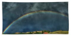Rainbow Over Cripple Creek Bath Towel