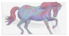Rainbow Pony II Hand Towel