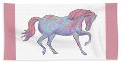 Rainbow Pony II Bath Towel