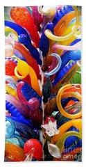 Rainbow Spirals Hand Towel
