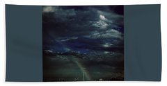 Rainbow Through The Storm  Bath Towel by Frank J Casella