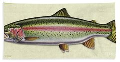 Rainbow Trout Id Bath Towel