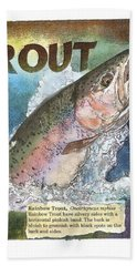 Rainbow Trout Bath Towel