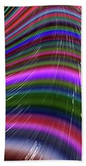 Rainbow Waves Hand Towel