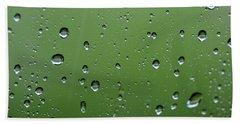 Raindrops  2 Hand Towel
