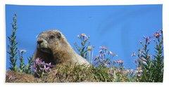 Rainier Marmot Bath Towel
