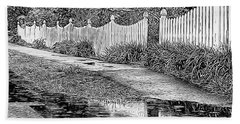 Hand Towel featuring the photograph Rainy Day by Betsy Zimmerli