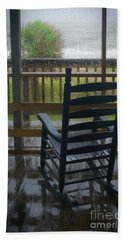 Rainy Day Memories Hand Towel by Skip Willits