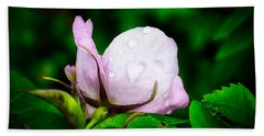 Rainy Day Rose Number 2 Hand Towel