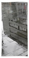 Rainy Morning In Mainz Bath Towel
