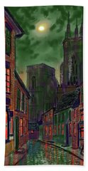Rainy Night In Kirkgate Hand Towel