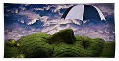 Rainy Summer Day Hand Towel by Mihaela Pater