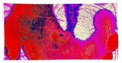 Bath Towel featuring the photograph Raku Abstract by M Diane Bonaparte