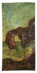 Ralph Albert Blakelock  1847  1919  Marine, Seal Rock Hand Towel