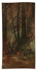 Ralph Albert Blakelock  1847  1919  Woodland Stream Bath Towel