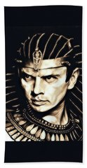 Ramses II Hand Towel by Fred Larucci