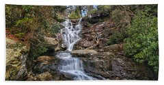 Ramsey Cascades - Tennessee Waterfall Bath Towel
