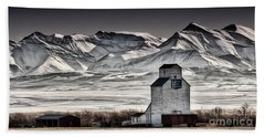 Hand Towel featuring the photograph Ranchland Elevator by Brad Allen Fine Art