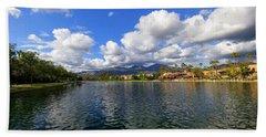 Rancho Santa Margarita Lake Hand Towel