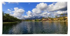 Rancho Santa Margarita Lake Bath Towel