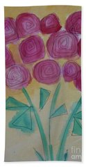Randi's Roses Hand Towel by Kim Nelson