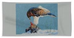 Raptor Bath Towel
