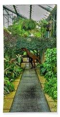 Raptor Seen In Kew Gardens Bath Towel