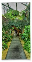 Raptor Seen In Kew Gardens Hand Towel