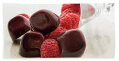 Raspberry Chocolate Hand Towel