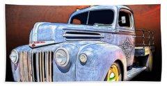 Rat Rod Flatbed Truck Texana Hand Towel