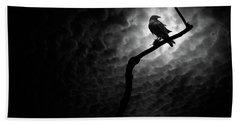 Raven, Death Valley Bath Towel