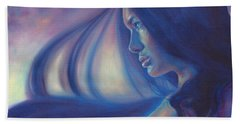 Raven Sunrise Hand Towel