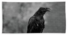 Raven Hand Towel