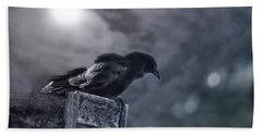 Raven Twilight Hand Towel