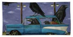 Ravens' Ride Bath Towel