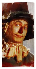 Ray Bolger As The Scarecrow Hand Towel