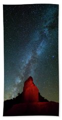 Hand Towel featuring the photograph Reach For The Stars by Stephen Stookey