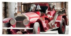 Bath Towel featuring the photograph Ready To Serve Again by Wilma Birdwell