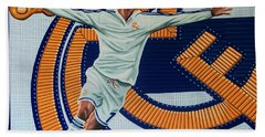 Real Madrid Painting Hand Towel