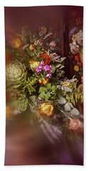 Floral Arrangement No. 1 Hand Towel by Richard Cummings