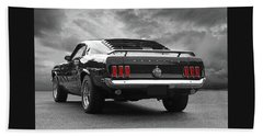 Rear Of The Year - '69 Mustang Hand Towel