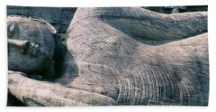 Reclining Stone Buddha Polonnaruwa, Sri Bath Towel